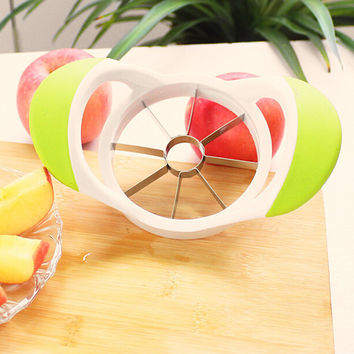 cut apples fruit slicer