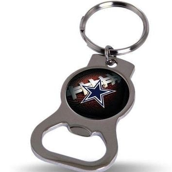 NFL Dallas Cowboys Bottle Opener Keychain FREE SHIPPING!