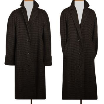 Men's Coat- Wool Coat- Winter Coat- Long Coat- Vintage Coat