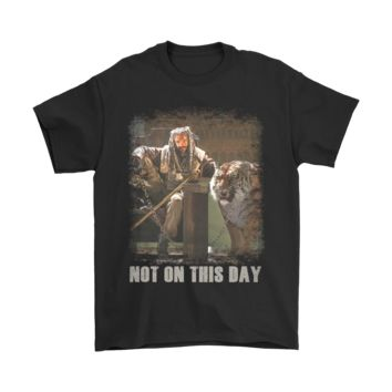 ESB8HB Shiva Not On This Day The Walking Dead Shirts