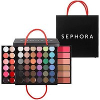 "SEPHORA COLLECTION Medium Shopping Bag Makeup Palette 0.918 oz; 4.5 x 4.5 x 1"" (closed); 4.5 x 8 x 8"" (expanded)"