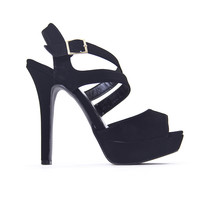 Steps In The Right Direction Heels In Black