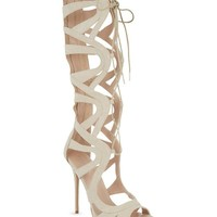 CARVELA - Gylda 2 knee-high heeled sandals | Selfridges.com