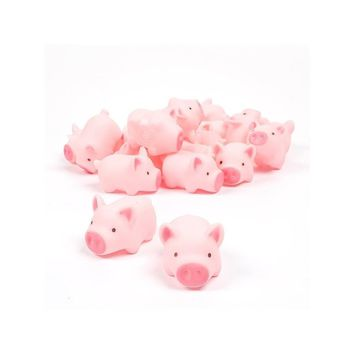 Bath - Rubber Pig Baby Bath Toy (10pcs)