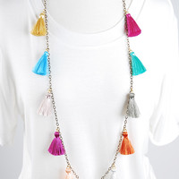 The Stevie Necklace - Pastel Multi