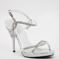Formal Prom Shoes, Rhinestone Shoes, Prom Heels, Promshoe-800-6