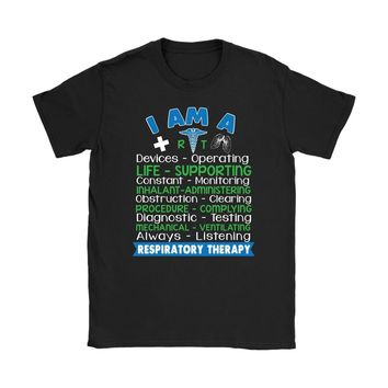Respiratory Therapist Shirt Respiratory Therapy Devices Gildan Womens T-Shirt