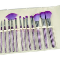 Professional 16 Pcs Cosmetics Makeup Brushes Set With Purple Leather Bag Brand Make Up Brushes Eye Shadow Blush 1557|26601 = 1745658308