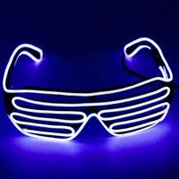 Holiday performance blinds cold light glasses