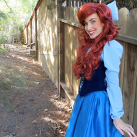 Little Mermaid Style Wig (Made to Order)