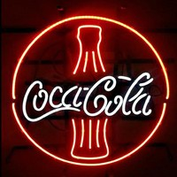 Coca Cola Coke Bottle Real Neon Sign Real Neon Light