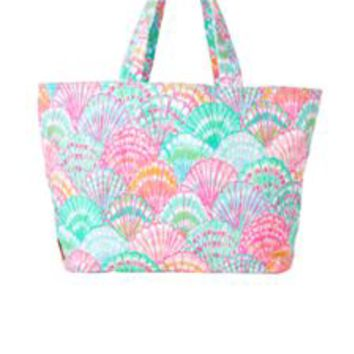 Beach Tote Bag - Oh Shello - Lilly Pulitzer