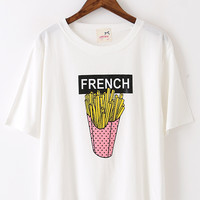 White French Fry T-Shirt