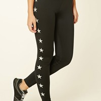 Active Star Print Leggings