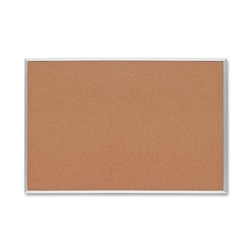 "Sparco Products Cork Board, 1/2"""" Thick, 3'x2', Aluminum Frame Case Pack 2"