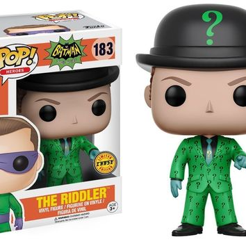 Funko Pop DC Heroes: Batman Riddler 183 13628 Chase