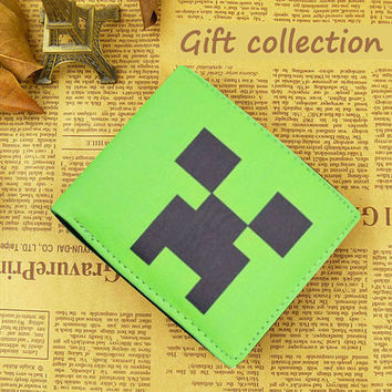 Minecraft wallet Leather, Gift Wallet