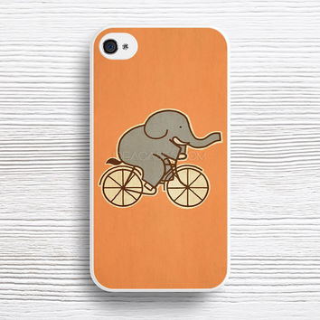 Elephant Cycle case iPhone 4s 5s 5c 6s 6 Plus Cases, Samsung Case, iPod 4 5 6 case, HTC case, Sony Xperia case, LG case, Nexus case, iPad case