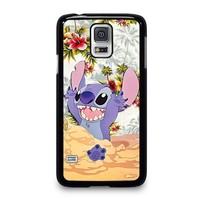 DISNEY LILO & STITCH VINTAGE FLORAL Samsung Galaxy S5 Case Cover