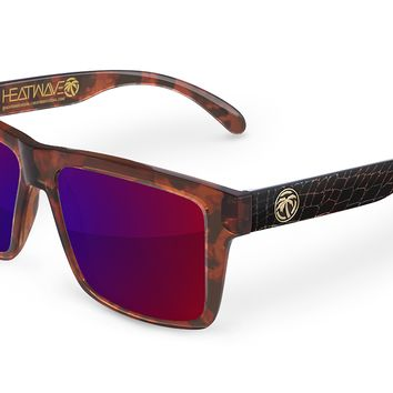 VISE Sunglasses: Crocodile // Tortoise Hybrid Customs