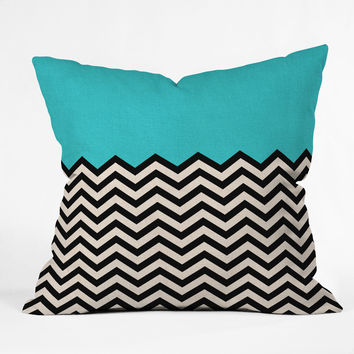Bianca Green Follow The Sky Throw Pillow
