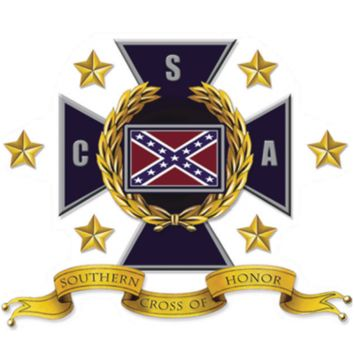 Southern Cross of Honor - Square Sticker