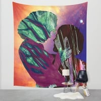 Glyphs Wall Tapestry by Eugenia Loli | Society6