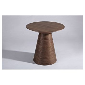 Modern Walnut Scandinavian Juho Side Table