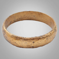 Historical  Ancient Viking, Mans Wedding Band, Jewelry C.866-1067A.D. Size 9  (18.3mm)(BRR752)