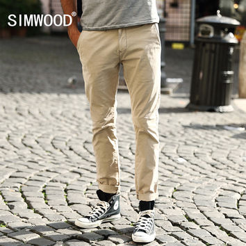 New Arrival Fashion Men Clothing Casual Slim Fit Cotton Long Pants Men Sweatpants
