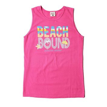 Beach Bound Tank in Hot Pink by Jadelynn Brooke - FINAL SALE