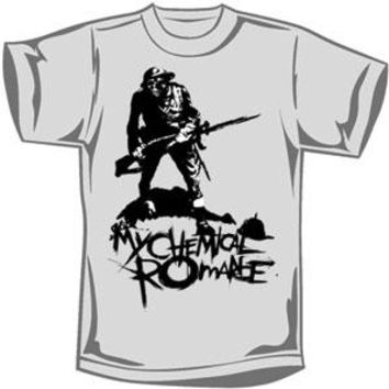 My Chemical Romance Men's  Trail Blazer T-shirt Grey