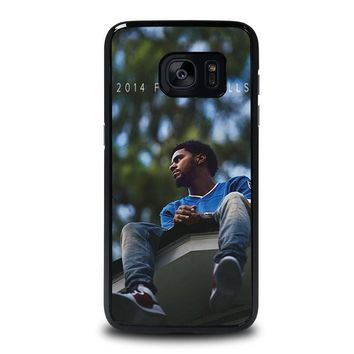 j cole forest hills samsung galaxy s7 edge case cover  number 1