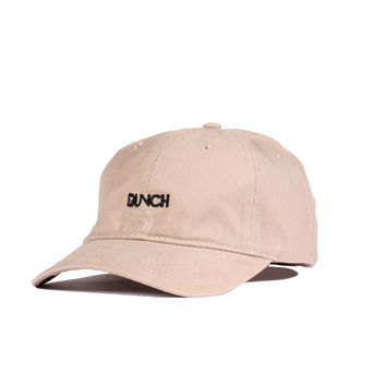 Jiberish x The Bunch - Unstructured 6 Panel Khaki