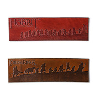 Leather Middle-earth Bookmarks