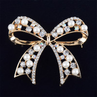Bowknot Imitation Brooches