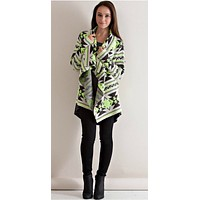 Light Up the Room Cardigan - Neon Lime
