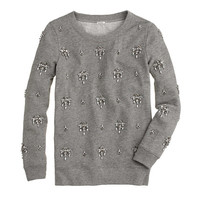 Jeweled chandelier sweatshirt - shirts & tops - Women's new arrivals - J.Crew