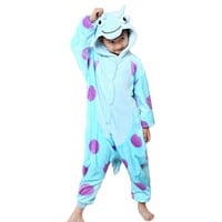 Blue Cow Suit Onesuits Pajama