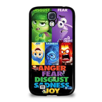 INSIDE OUT ALL CHARACTER Disney Samsung Galaxy S4 Case Cover