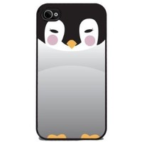 Baby Penguin - iPhone 4 or 4s Cover, Cell Phone Case - Black