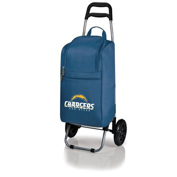San Diego Chargers - Cart Cooler with Trolley (Navy)