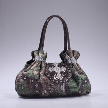 Realtree® Camouflage Handbag In Xg/Br