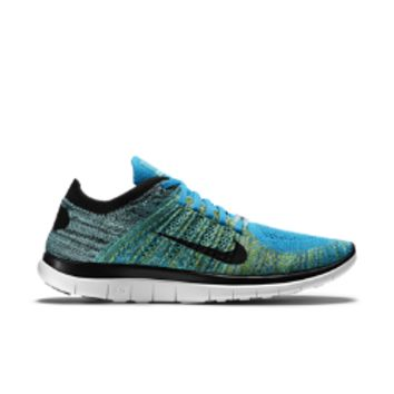 Nike Free N7 4.0 Flyknit Men's Running Shoe Size 13 (Blue)