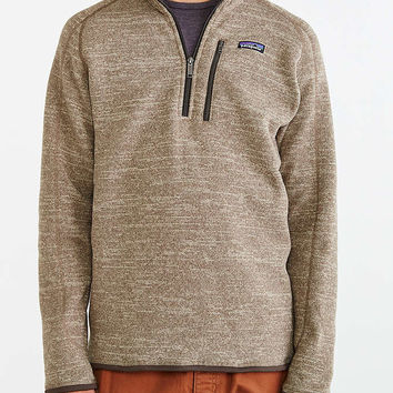 Patagonia Quarter-Zip Better Sweater - Urban Outfitters