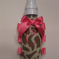 Personalized Baby Gift - Baby Bottle Swaddle (chic baby bottle accessory) for baby girl