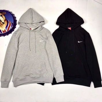 PEAPONMI NIKE Women/Men Fashion Hooded Top Pullover Sweater Sweatshirt