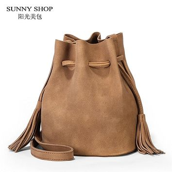 6bf8a77d5f99 SUNNY SHOP 2017 New Vintage Women Bag Spring Summber Small Buck