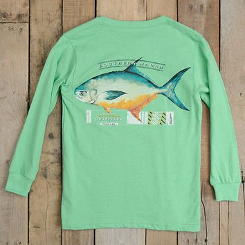 Southern Marsh Outfitter Collection - Pompano - Long Sleeve - Youth