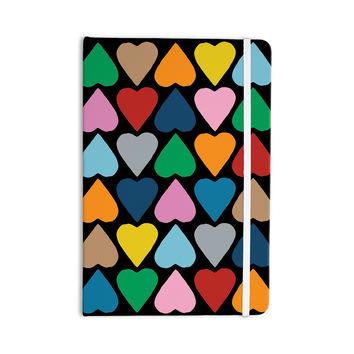 """Project M """"Up and Down Hearts on Black"""" Everything Notebook"""